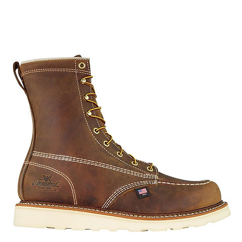 Thorogood Men's American Heritage Trail Crazy Horse Moc Toe Maxwear Edge