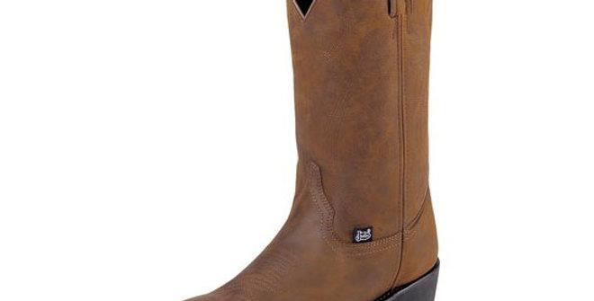 Justin Men's Butch Tan Soft Toe Cowboy Boot