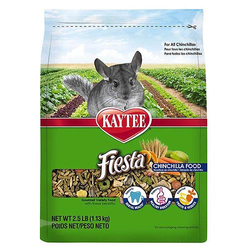 Kaytee Fiesta Chinchilla Food - 2.5 lb. bag