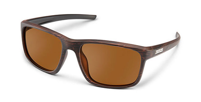 SunCloud Optics Brown Respek Sunglasses