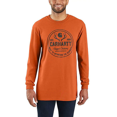 Carhartt Men's Workwear Hunt Rugged Outdoors Long-Sleeve T-Shirt