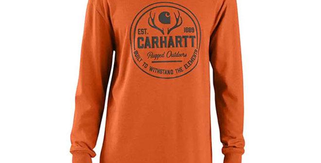 Carhartt Men's Workwear Hunt Rugged Outdoors Long-Sleeve T-Shirt