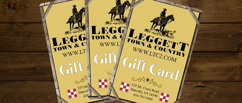 Leggett Town and Country Gift Card