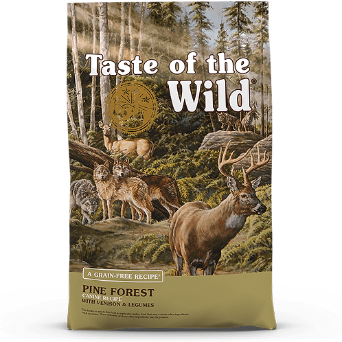 Taste of the Wild Pine Forest Canine - 5 lb. bag