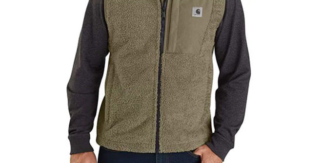 Carhartt Men's Yukon Extremes Wind Fighter Fleece Vest