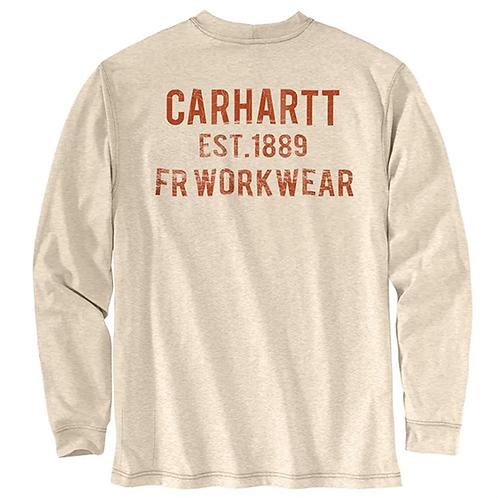 Carhartt Men's Flame-Resistant Long-Sleeve Tee