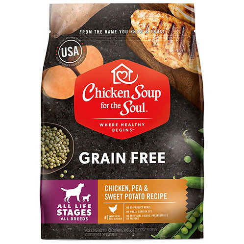 Chicken Soup Grain Free Chicken Pea and Sweet Potato - 4 lb. bag