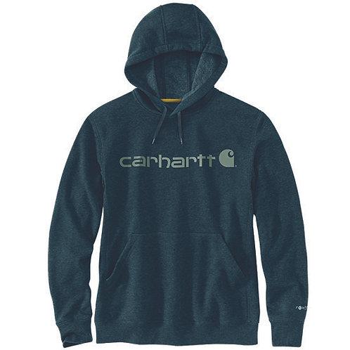 Carhartt Force Men's Delmont Signature Graphic Hooded Sweatshirt