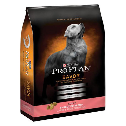 Purina Pro Plan Savor Shredded Blend Lamb and Rice Formula Adult - 6 lb. bag