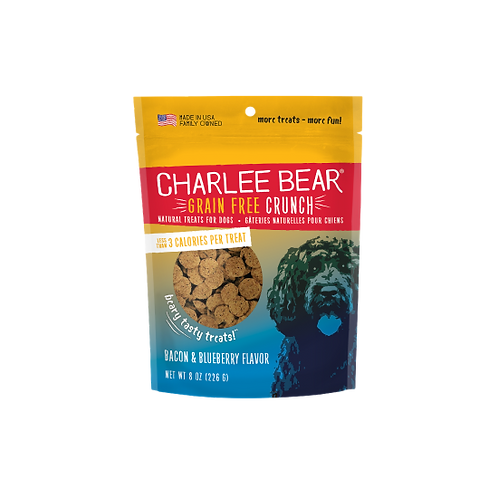 Charlee Bear Grain Free Bacon & Blueberry Flavor