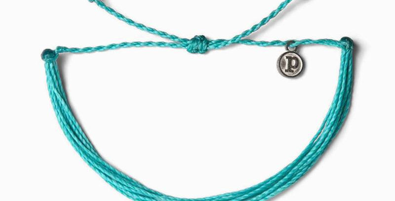 Pura Vida Solid Pacific Blue Bracelet