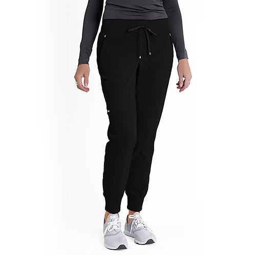 Grey's Anatomy Women's 5 Pocket Soft Rib Waist Jogger