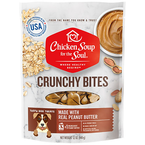 Chicken Soup for the Soul Crunchy Bite Chicken Dog Treats