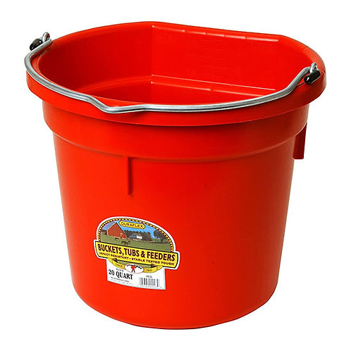 Little Giant Duraflex 20-Quart Flat Back Bucket
