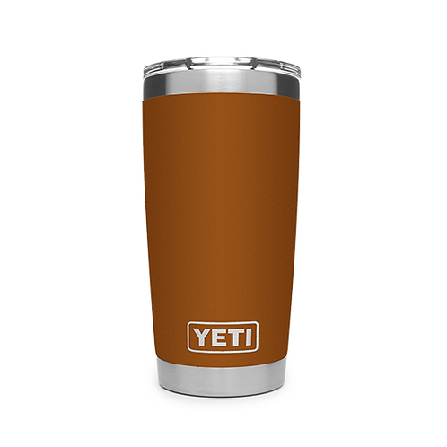 Yeti Rambler 20 oz Tumbler with Magslider Lid - Clay