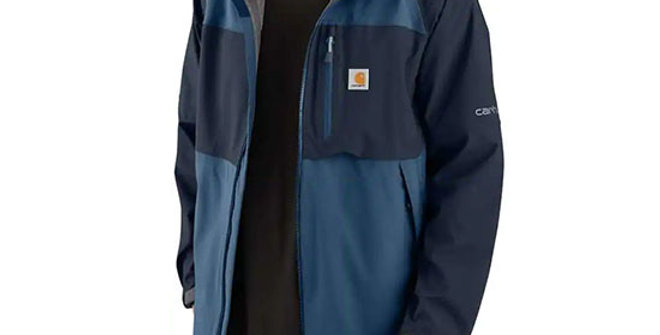 Carhartt Men's Storm Defender Carhartt Force Hooded Jacket
