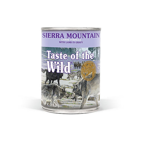 Taste of the Wild Sierra Mountain Canine Can
