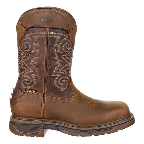 Rocky Men's Iron Skull Composite Toe Western Boot