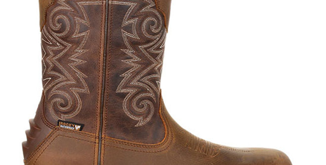 Rocky Men's Iron Skull Composite Toe Western Boot