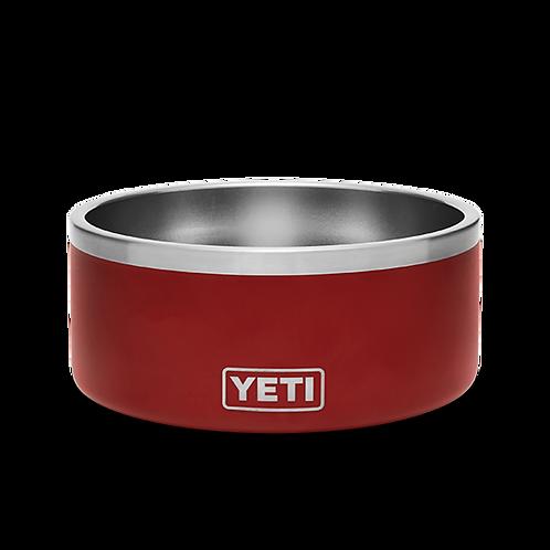 Yeti Boomer 4 Dog Bowl Red