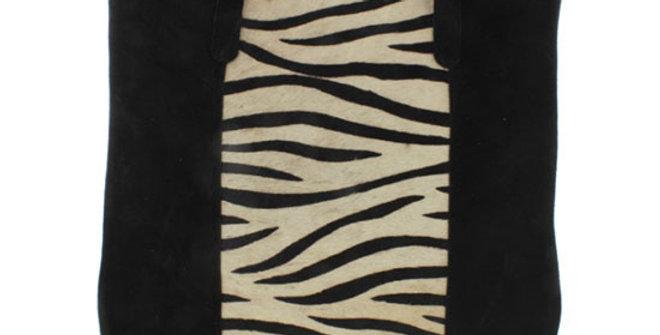 Jane Marie Zena Zebra Tote