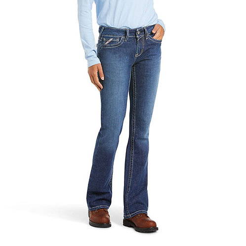SVEC Ariat Women's DuraStretch Basic Boot Cut Jean