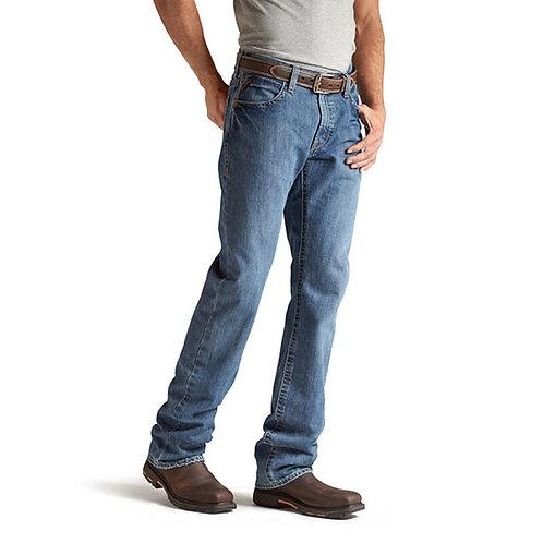CVEC Ariat FR M4 Low Rise Boot Cut Jean in Flint