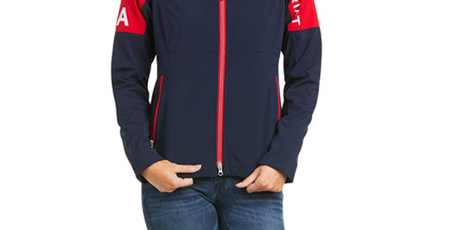 Ariat Women's USA Global Softshell Jacket