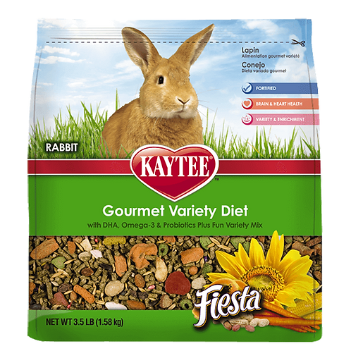 Kaytee Fiesta Rabbit Food - 3.5 lb. bag