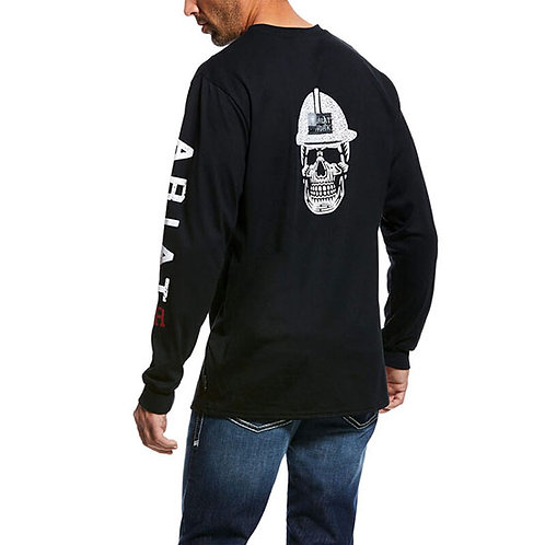 RWEC Ariat Men's FR Roughneck Skull Logo T-Shirt