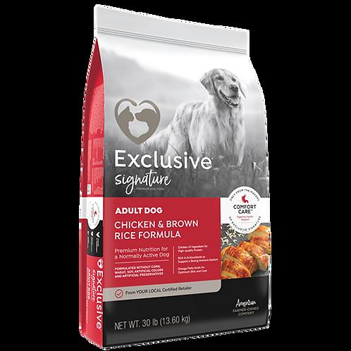 Exclusive Signature Adult Dog Food - 30 lb. bag