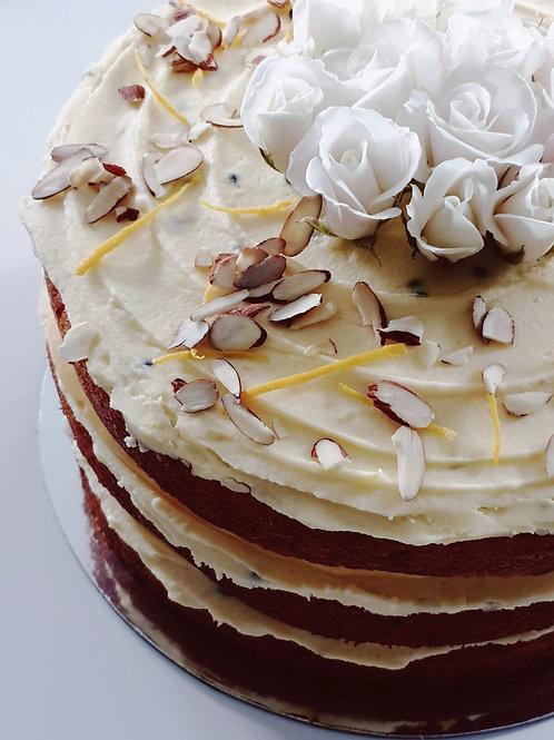 Passionfruit and Orange Cake