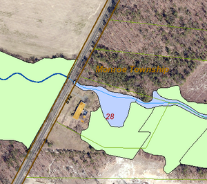 Wetlands Mapping in Pinelands Area of Monroe Township