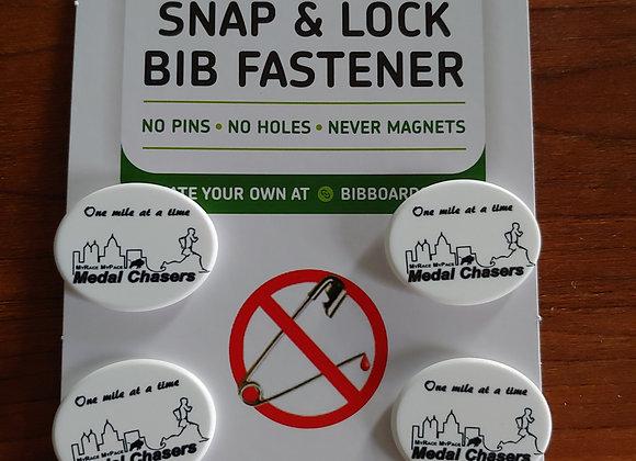 BibBoards Pinless Bib Fasteners