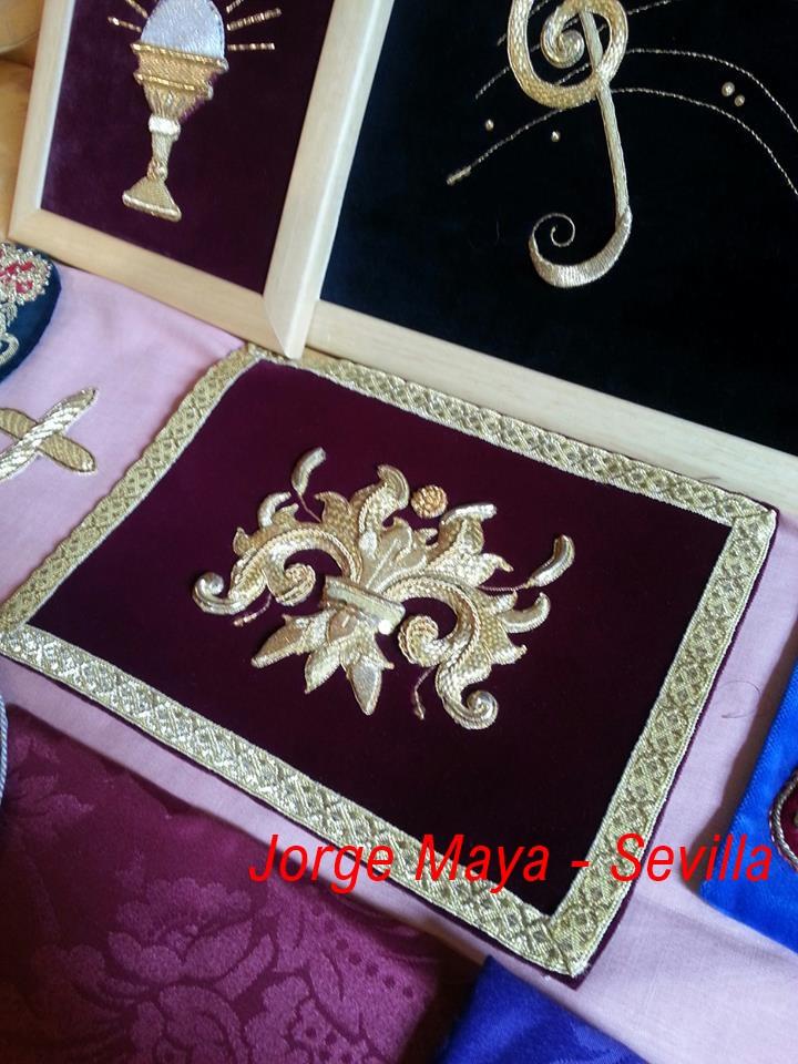 Ricamo in oro Jorge Maya Sevilla