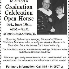 Graduation Celebration & Open House