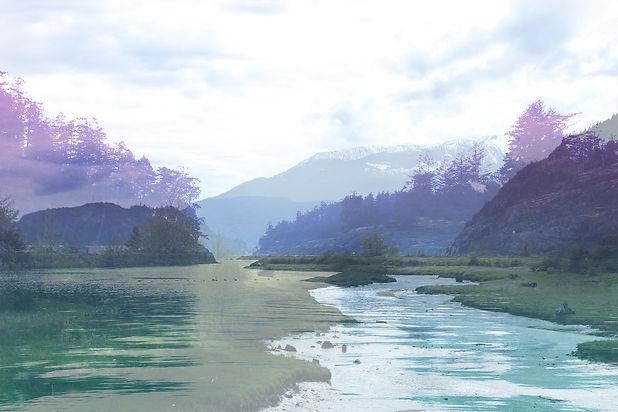 Double Exposure - Estuary and Sechelt.jp
