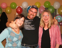 Jenn, Chris, Theresa