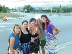 Bri, Nad, Stacy, Peter, Andrea