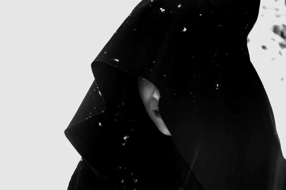 Hooded Woman