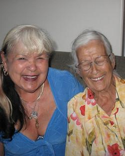 Nana and Nat (photo credit Maggie Bain)