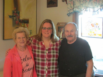 Pat, Robyn, and Al