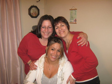 Heather, Janet, and Maggie