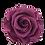 Thumbnail: ROSE STABILISÉE 63MM - MAUVE (x6)
