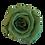 Thumbnail: ROSE STABILISÉE 63MM - VERTE TEA (x6)