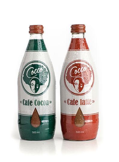 Lækre cafe cocoa reklamebillede