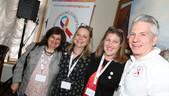 EONS Board members Cristina Lacerda, Reb