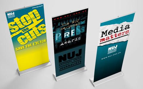 Various Pop-Up Banner Designs