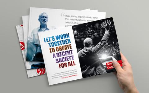 Promotional Materials (leaflet designs)