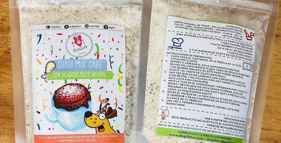 Guau Mix Cake: Mezcla instantánea para cupcake canino